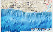 Shaded Relief 3D Map of Caridad