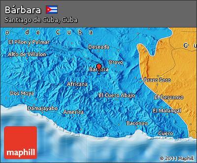 Political Map of Bárbara
