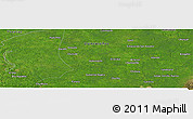 Satellite Panoramic Map of Petuillo