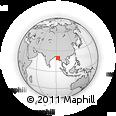 Outline Map of Myengu Island, rectangular outline