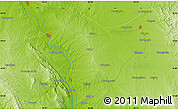 """Physical Map of the area around 19°52'38""""N,95°16'30""""E"""