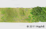 "Satellite Panoramic Map of the area around 19° 52' 38"" N, 96° 7' 30"" E"