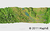 Satellite Panoramic Map of Dawtè-law