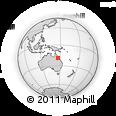 Outline Map of Night Jar, rectangular outline