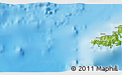 """Physical 3D Map of the area around 19°2'1""""S,177°43'29""""E"""