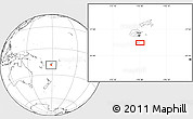 Blank Location Map of Kavala