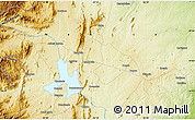 """Physical Map of the area around 19°2'1""""S,33°13'30""""E"""