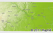 """Physical 3D Map of the area around 19°2'1""""S,34°4'30""""E"""