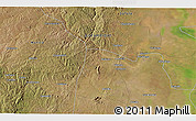 """Satellite 3D Map of the area around 19°2'1""""S,34°4'30""""E"""