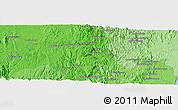 Political Panoramic Map of Moramanga