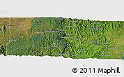 Satellite Panoramic Map of Moramanga