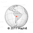 Outline Map of Maragua, rectangular outline