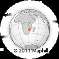 Outline Map of Sussundenga, rectangular outline