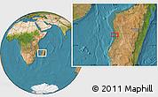 "Satellite Location Map of the area around 19°32'24""S,44°16'29""E"