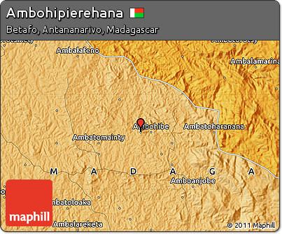 Political Map of Ambohipierehana