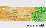Political Panoramic Map of Ambatolampy