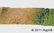 Satellite Panoramic Map of Ambatolampy