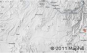 Physical Map of Potosí