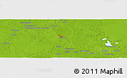 """Physical Panoramic Map of the area around 1°13'33""""N,101°13'29""""E"""