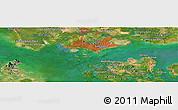 Satellite Panoramic Map of Pedissa
