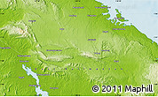 Physical Map of Buku