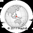 Outline Map of Universitas Negeri Manado, rectangular outline