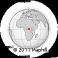 Outline Map of Loleke, rectangular outline