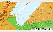 Political 3D Map of Kabonerwa