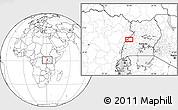 Blank Location Map of Kabonerwa