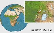 Satellite Location Map of Kabonerwa