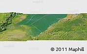 Satellite Panoramic Map of Kabonerwa