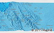 Political 3D Map of Tagelang-jae