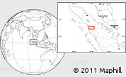 Blank Location Map of Tagelang-jae