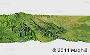 Satellite Panoramic Map of Sayurmatinggi