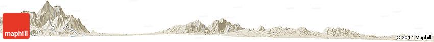 Shaded Relief Horizon Map of Mukus
