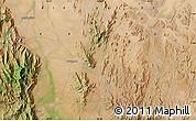 Satellite Map of Mukus