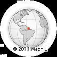 Outline Map of Maloca Repy, rectangular outline