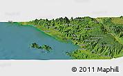 Satellite Panoramic Map of Hutadangir