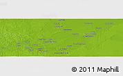Physical Panoramic Map of Jambi