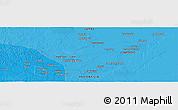 Political Panoramic Map of Jambi