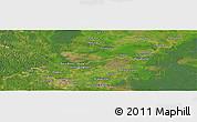 Satellite Panoramic Map of Jambi