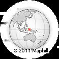 Outline Map of Fetsawit, rectangular outline