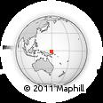 Outline Map of Elolian, rectangular outline