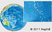 Physical Location Map of Nuribenua