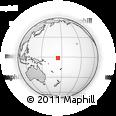 Outline Map of Nuribenua, rectangular outline