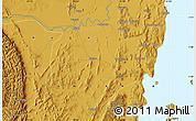 Physical Map of Nyakahanga