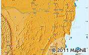 Political Map of Nyakahanga
