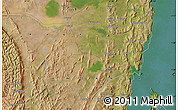 Satellite Map of Nyakahanga