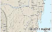 Shaded Relief Map of Nyakahanga