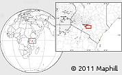 Blank Location Map of Katothia